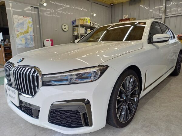 BMW 740i クラスM施工。